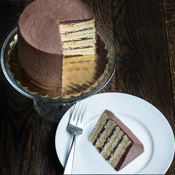 Chocolate Peanut Butter Smith Island Cake (Smaller)