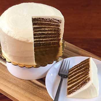 Pumpkin Spice Smith Island Cake (Smaller)