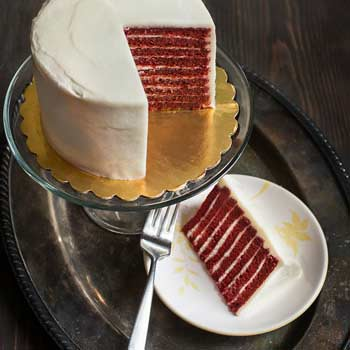 Red Velvet Smith Island Cake (Smaller)
