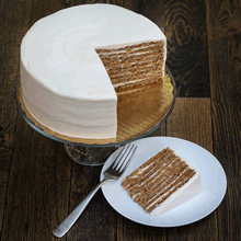 Pumpkin Spice Smith Island Cake (Larger)
