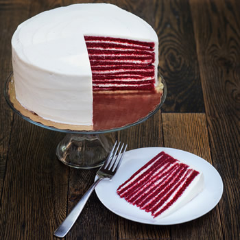 Red Velvet Smith Island Cake (Larger)