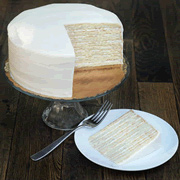 Vanilla Buttercream Smith Island Cake (Larger)